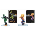 Dragon Ball Z - Dramatic Showcase Stagione 01 #01 Son Gohan / Cell (Set 2 Soggetti Altezza 10/14 Cm)