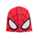 Spider-Man - Knitted Beanie With See Through Mesh Eyes (Berretto)