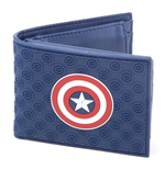 Captain America Civil War - Shield Logo Bifold Wallet (Portafoglio)