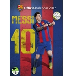Calendario Barcellona F.C. Lionel Messi 2017