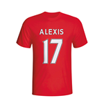 T-shirt Arsenal (Rosso)