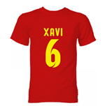 T-shirt Barcellona (Rosso)