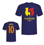 T-shirt Barcellona 2015 Lionel Messi Champions