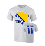 T-shirt Bosnia calcio