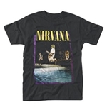 T-shirt Nirvana Stage Jump