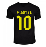 T-shirt Borussia Dortmund Away (Nero)