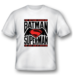 Batman V Superman - Logo (T-SHIRT Unisex )