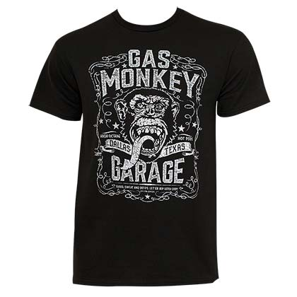 T-shirt Gas Monkey Garage da uomo