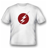 Dc Comics - Flash - Lightning Logo (T-SHIRT Unisex )