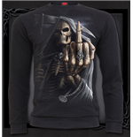 Spiral - Bone Finger Heavy Pique Sweat (T-SHIRT Unisex )
