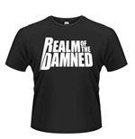 Realm Of The Damned - White Logo (T-SHIRT Unisex )