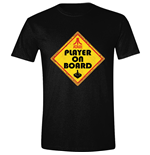 Atari - Player On Board Black (T-SHIRT Unisex )