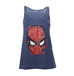 Marvel - Spiderman Head Paint (canotta Donna )