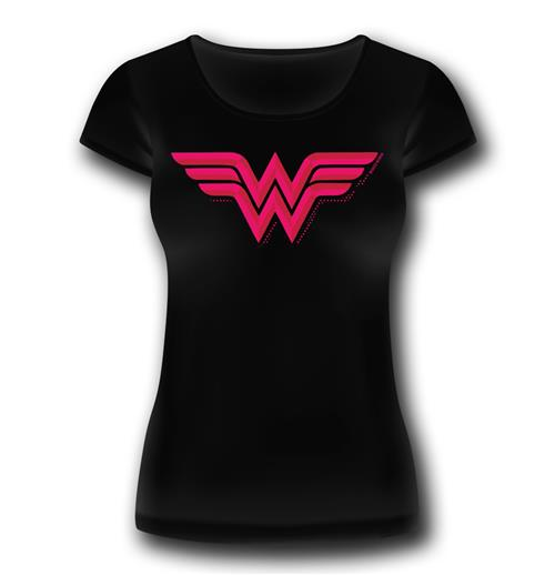 T-shirt Wonder Woman Donna Logo Classic