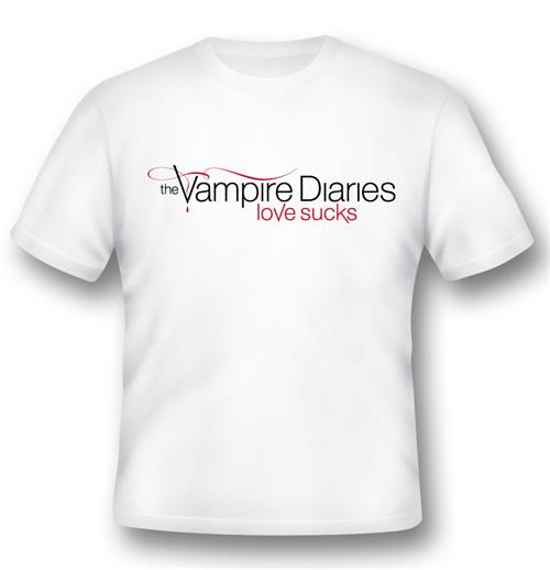 T-shirt Vampire Diaries Love Sucks