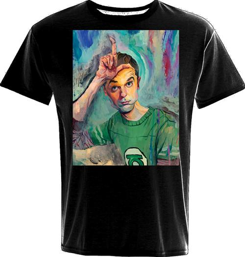 T-shirt Sheldon Art Loser