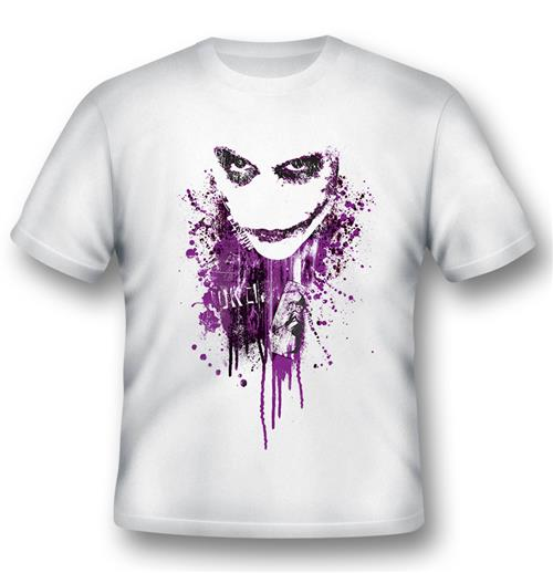 T-shirt Joker Purple