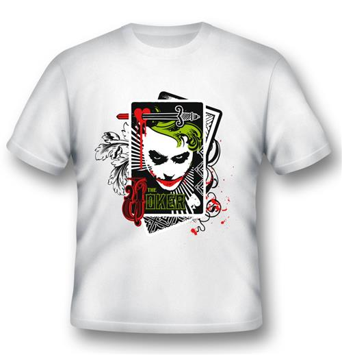 T-shirt Joker Cards
