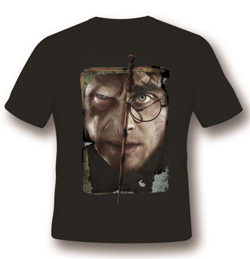 T-shirt Harry Vs Voldemort Black