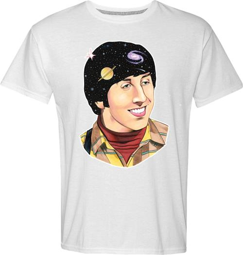 T-shirt Big Bang Theory Howard Art