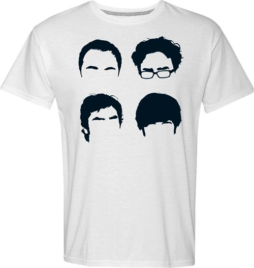 T-shirt Big Bang Theory Faces