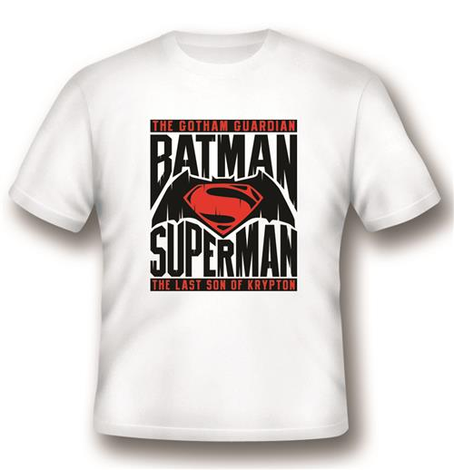 T-shirt Batman V Superman Logo