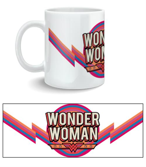 Tazza Wonder Woman Vintage Logo