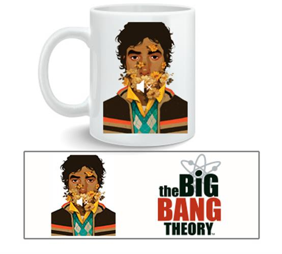 Tazza The Big Bang Theory Raj Nosound