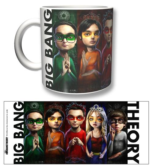 Tazza The Big Bang Theory Heroes