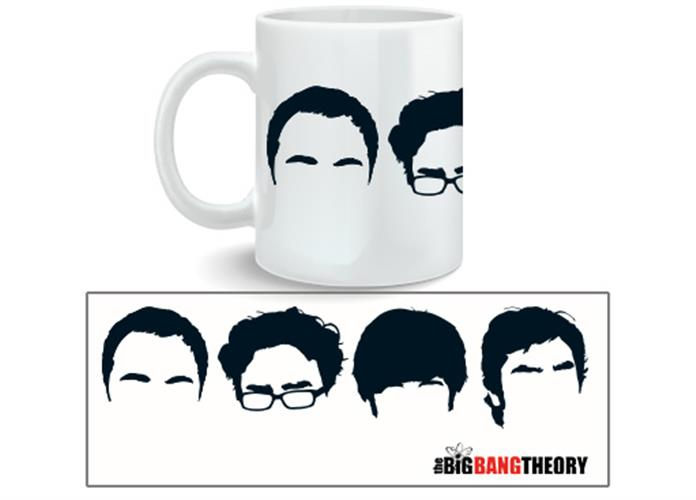 Tazza The Big Bang Theory Faces