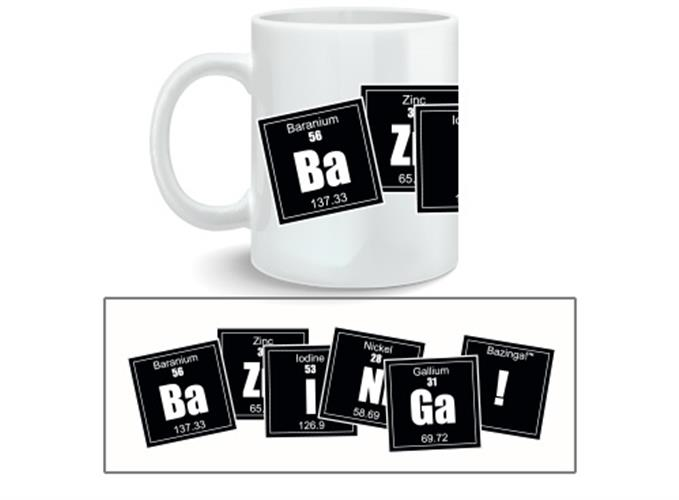 Tazza The Big Bang Theory Bazinga Formula