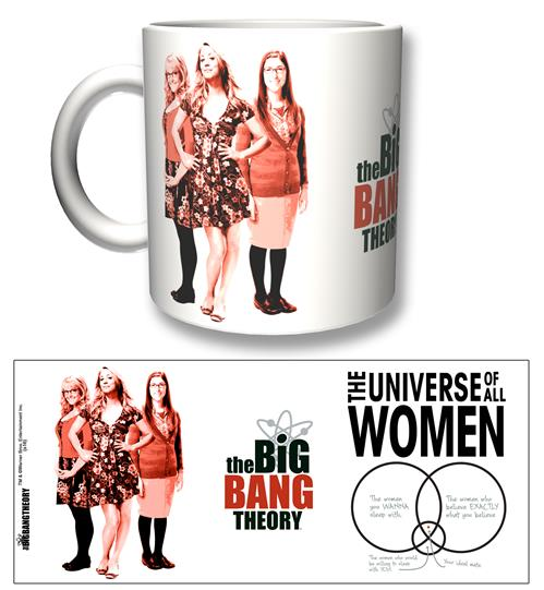Tazza The Big Bang Theory All Women