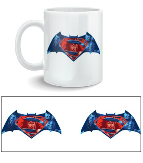 Tazza Batman V Superman Logo
