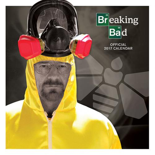 Calendario 2017 Breaking Bad