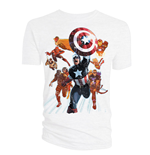 T-shirt The Avengers Cover