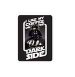 Magnete Metallo Star Wars - Coffee On The Dark Side