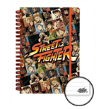 Street Fighter - Characters (Quaderno)