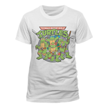 Teenage Mutant Ninja Turtles - Group (T-SHIRT Unisex )