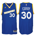 Canotta Golden State Warriors Stephen Curry adidas Swingman Alternate Jersey Blu