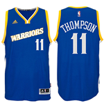 Canotta Golden State Warriors Klay Thompson adidas Swingman Alternate Jersey Blu