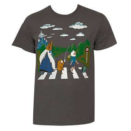 T-shirt Adventure Time - Beatles