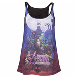 Nintendo - Zelda MAJORA'S Mask Ladies Tank Top (top Donna )