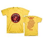 Rolling Stones (THE) - ZC15 Circle Logo Yellow Tour (T-SHIRT Unisex )