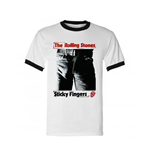 Rolling Stones (THE) - Sticky Fingers - Adult Ringer (T-SHIRT Unisex )