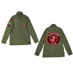 Giacca The Rolling Stones - Army Utilitarian Tongue