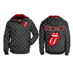 Rolling Stones (THE) - Aop Tongue Patterned Zip (giacca A Vento Unisex )