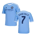 Maglia New York City 2016-2017 Home (David Villa 7)