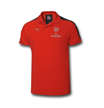 Polo Arsenal 2016-2017 Casual Performance (Rossa)