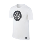 T-shirt Paris Saint-Germain 2016-2017 (Bianco)