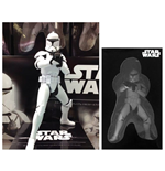 Star Wars - Premium Figure Clone Trooper Phase Scala 1:10 (Altezza 18 Cm)